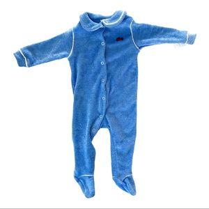 IZOD Lacoste / Vintage Infant Footie Sleeper 🐊